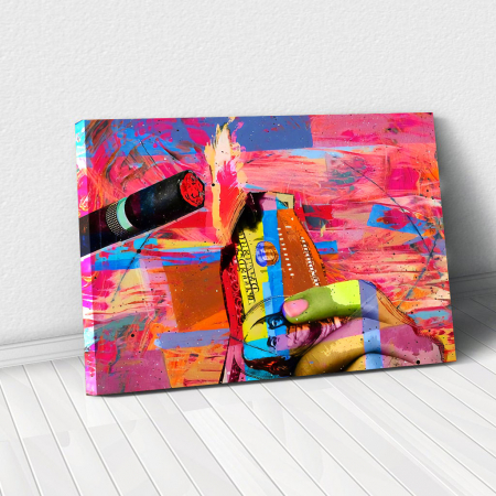 Tablou Canvas - Burn it0