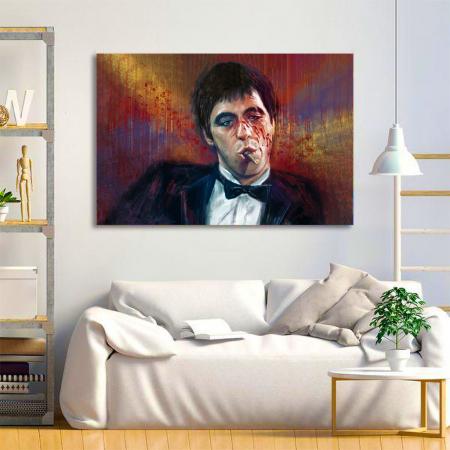 Tablou Canvas - Tony Montana1