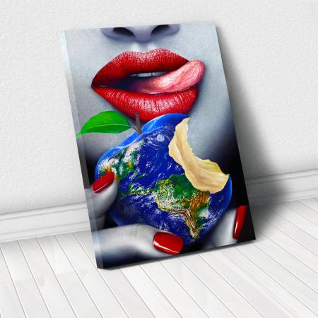 Tablou Canvas - Fructul interzis0