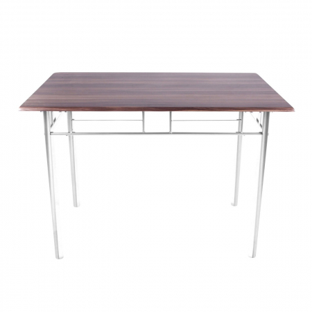 Set Melanie masă cu 4 scaune, maro [1]