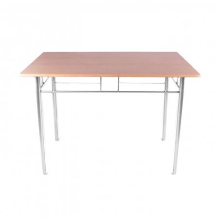 Set Melanie masă cu 4 scaune, natur1