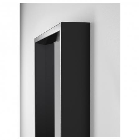 Oglinda tripla ,negru 130x1502