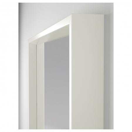 Oglindă, alba 65x65 cm1