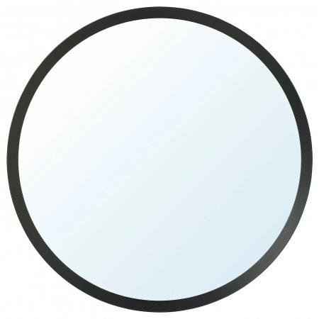 Oglindă, gri închis - 80 cm [0]