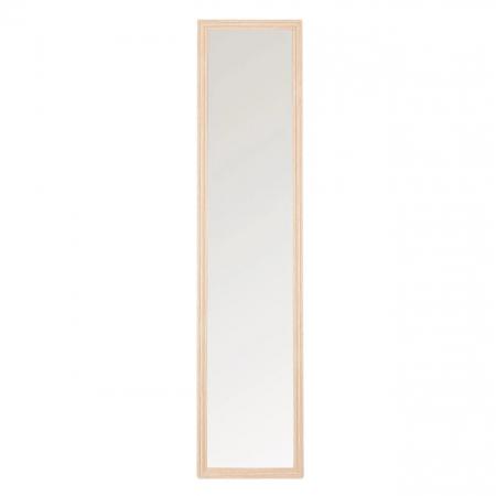 Oglindă, culoare stejar cu suport 36x156 cm2