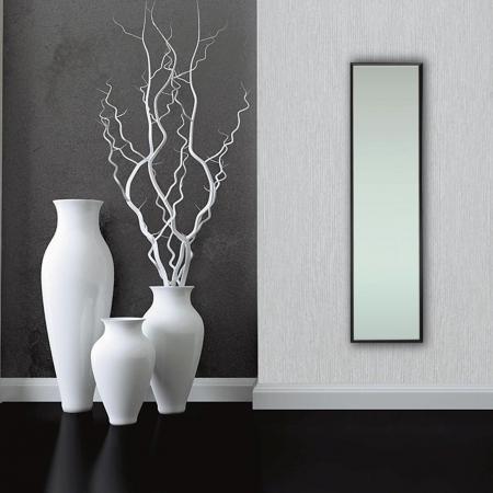 Oglindă 30 x 120 cm,ramă MDF negru Jolino0