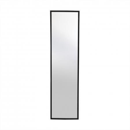 Oglindă 30 x 120 cm,ramă MDF negru Jolino2