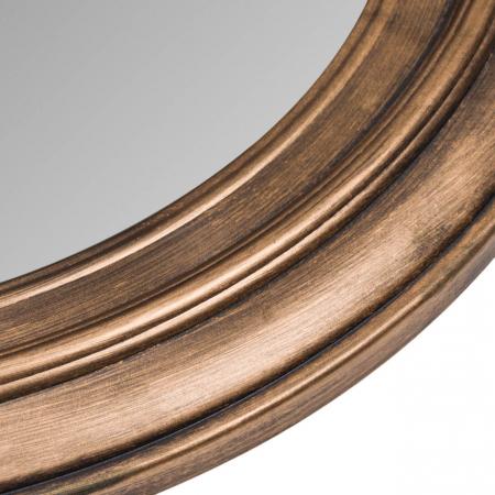 Oglindă de perete, cadru din plastic - 55 cm [1]