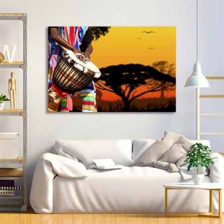 Tablou Canvas - African Sound2