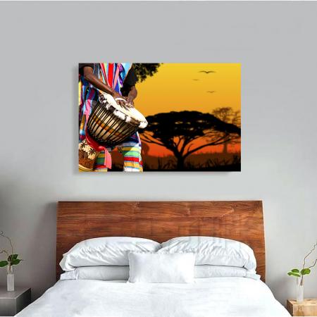 Tablou Canvas - African Sound1