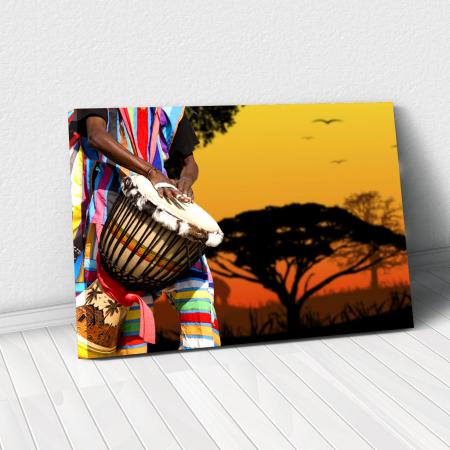 Tablou Canvas - African Sound0