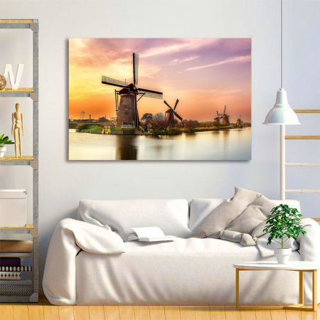 Tablou Canvas - Windmills2