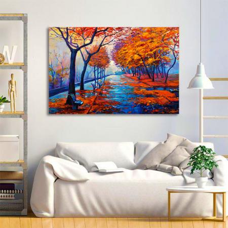 Tablou Canvas - Peisaj de toamna [1]