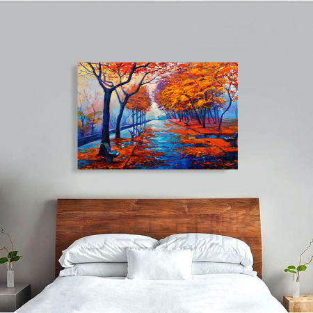 Tablou Canvas - Peisaj de toamna [3]