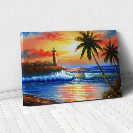 Tablou Canvas - Tropical0