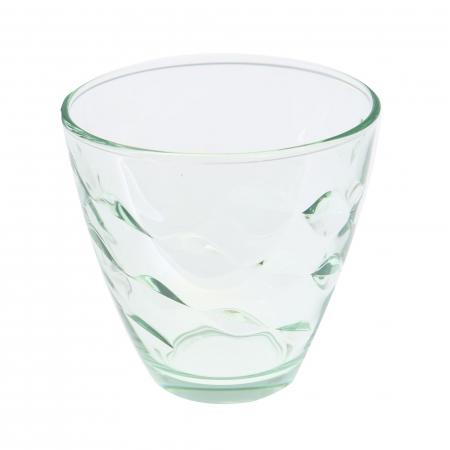 Pahar pentru apă / suc, sticlă verde, 260 ml, set 6 bucăți [0]