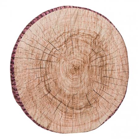 Pernă pentru șezut,design lemn,38x3 [1]