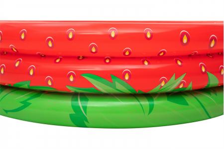 Piscină gonflabilă căpșună, 160 x 38 cm2