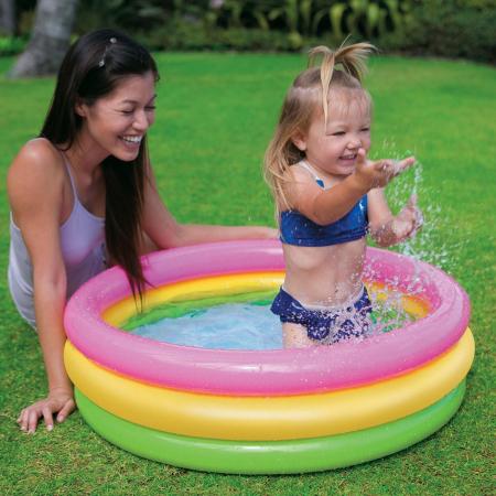 Piscină de vară pentru copii mici, 86x25 [0]