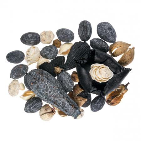 Flori uscate gri-negre, parfumate decorative Potpourri.120.gr [1]