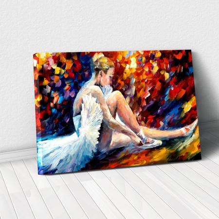 Tablou Canvas - Balerina0