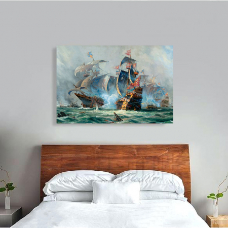 Tablou Canvas - Ships War1