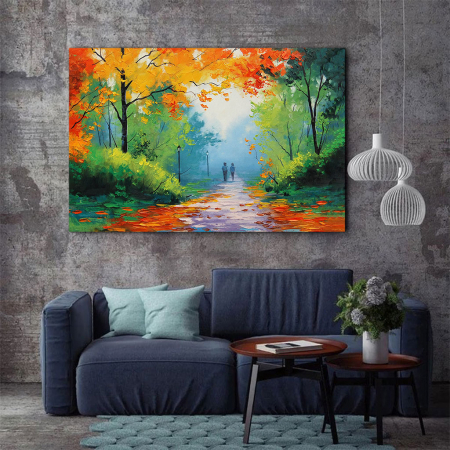 Tablou Canvas - Peisaj de toamna2