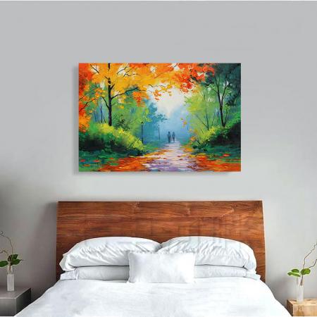 Tablou Canvas - Peisaj de toamna3