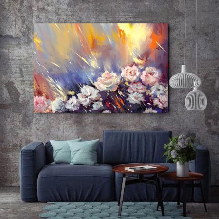 Tablou Canvas - Arta florala3