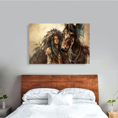 Tablou Canvas - Cherokee1