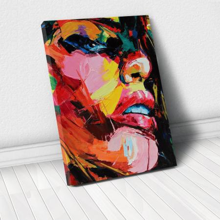 Tablou Canvas - Figura feminina0