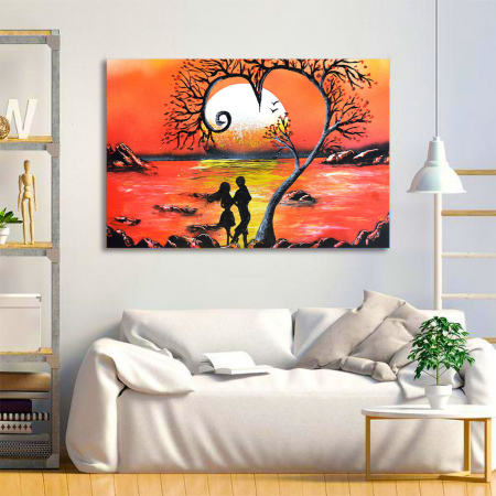 Tablou Canvas - Lovers1