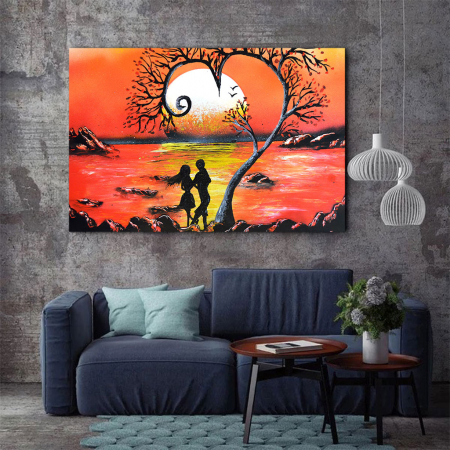 Tablou Canvas - Lovers2
