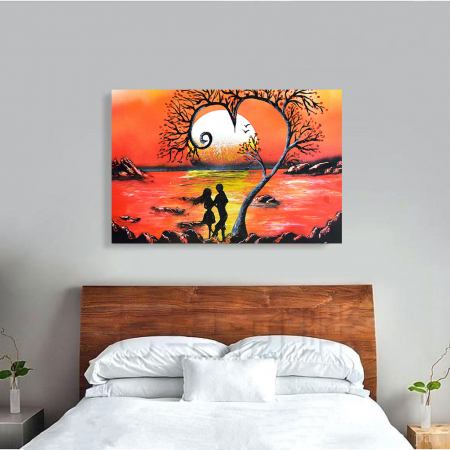 Tablou Canvas - Lovers3