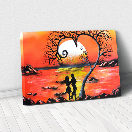 Tablou Canvas - Lovers0