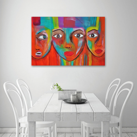 Tablou Canvas - Portrete artistice3