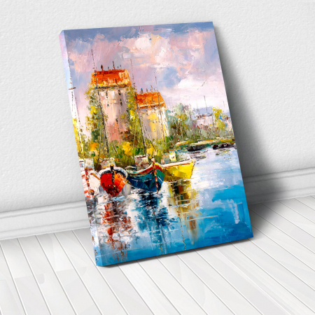 Tablou Canvas - Harbour View [0]