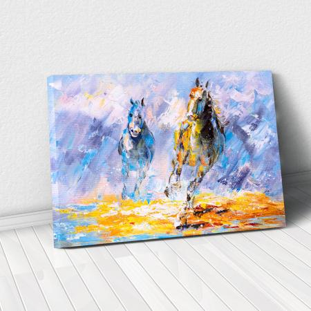 Tablou Canvas -Running Horse [0]