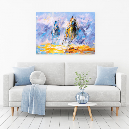 Tablou Canvas -Running Horse [1]