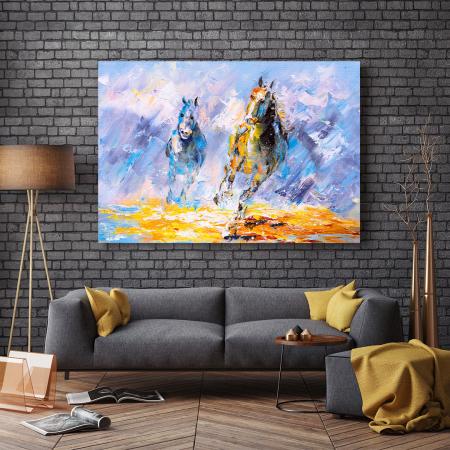 Tablou Canvas -Running Horse [2]