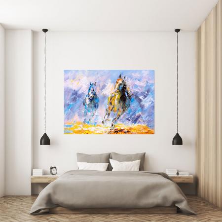 Tablou Canvas -Running Horse [3]