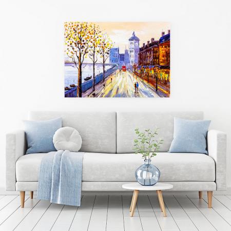 Tablou Canvas - Street view of London1