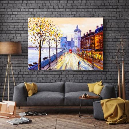 Tablou Canvas - Street view of London2