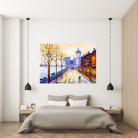 Tablou Canvas - Street view of London3