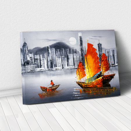 Tablou Canvas - Hong Kong [0]