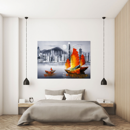 Tablou Canvas - Hong Kong [3]