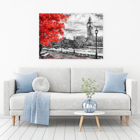 Tablou Canvas - Autumn in London1