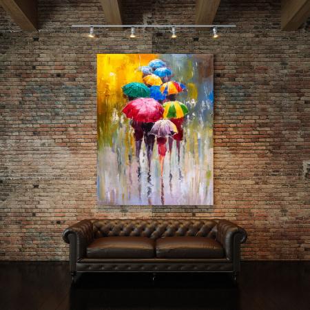 Tablou Canvas - Rainy Day [2]