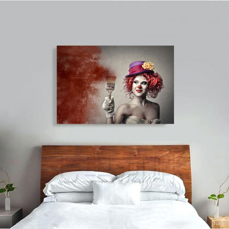 Tablou Canvas - Clown Style3