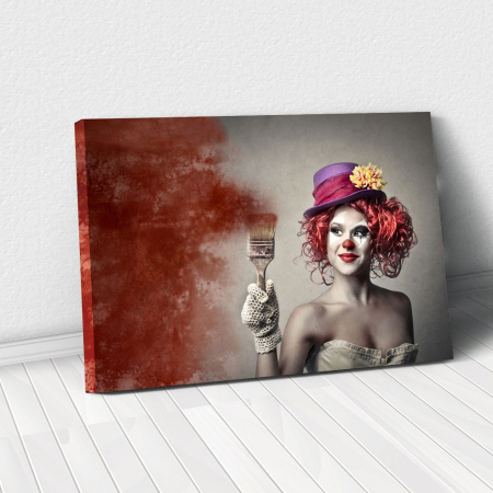 Tablou Canvas - Clown Style0